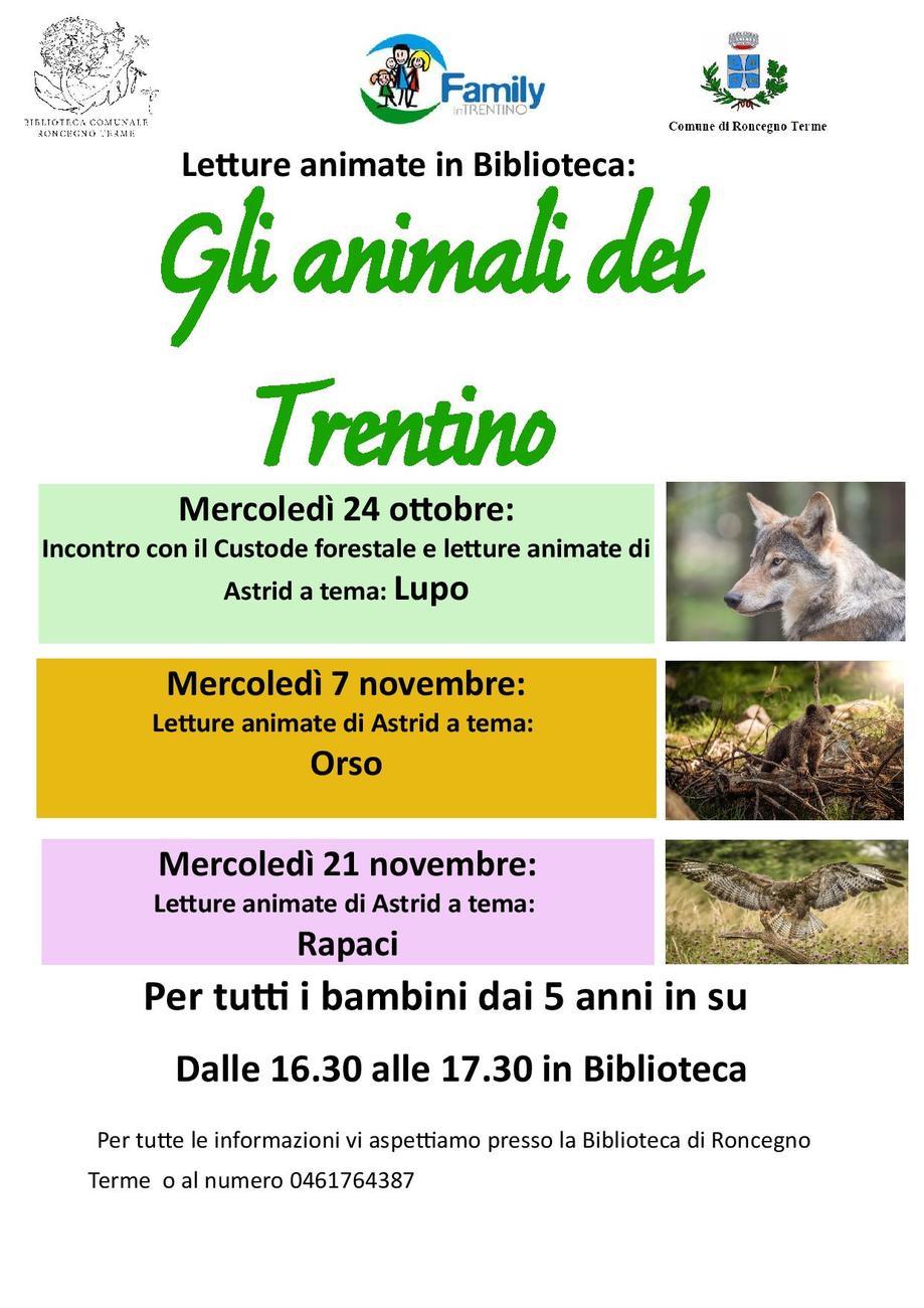 Letture per bambini sugli animali del Trentino: il lupo